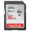 Tarjeta de memoria 16 GB SD Scandisk