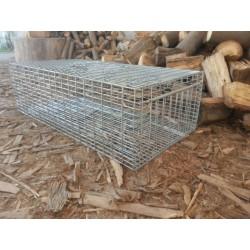 Trampa captura viva palomas ingreso frontal