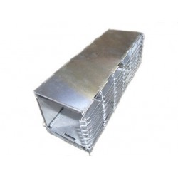 Trampa Tipo Sherman Aluminio 1 muro malla (3 tamaños disponibles) S-M-L