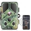 Campark T85  20MP WiFi Bluetooth Trail Cámara 1296P con 940nm