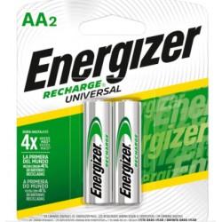 2 Pilas recargables Energizer