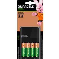 Cargador para 4 pilas recargables AA o AAA Duracell